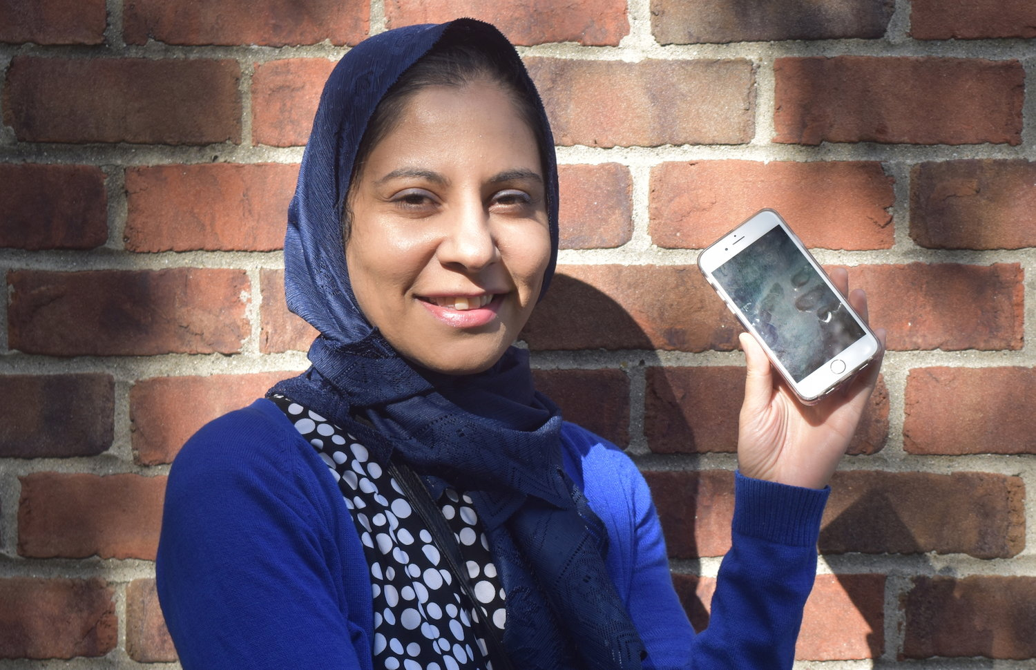 Favorite Things: Refugee outreach volunteer Farah Khalil and her phone