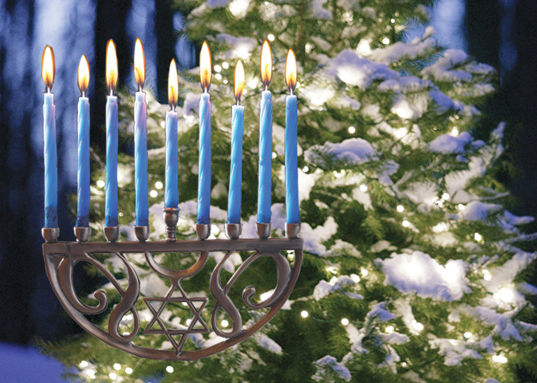 Should a menorah also light the Capitol lawn?