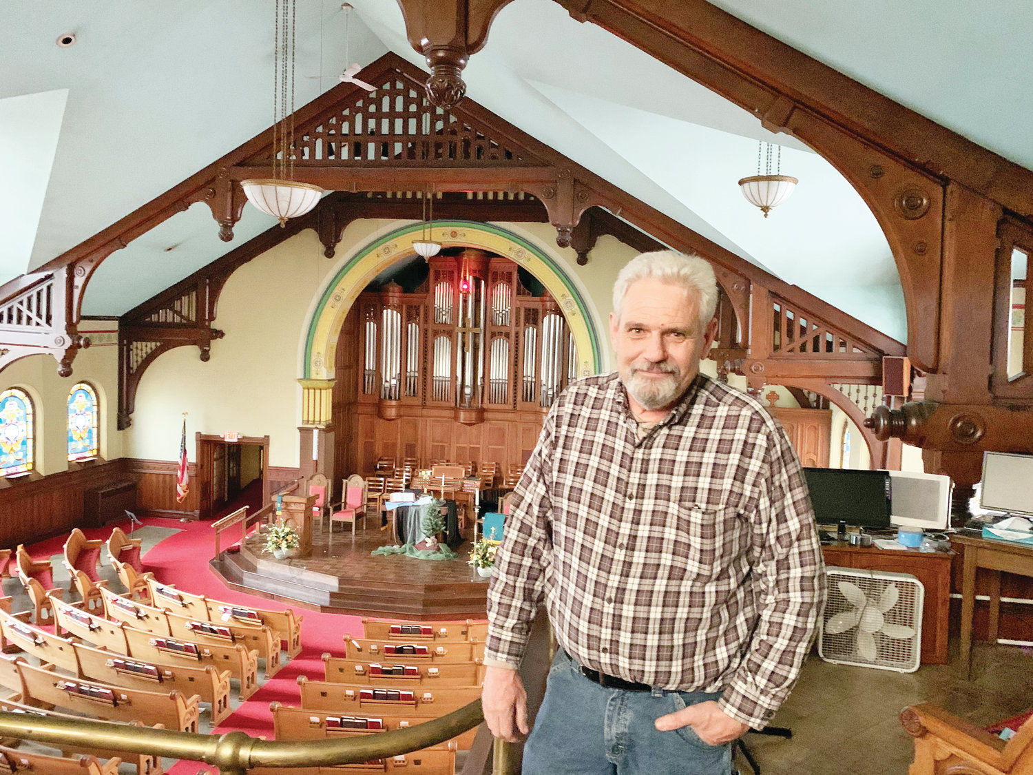 Central United Methodist Church fights obsolescence by working with Lansing artists