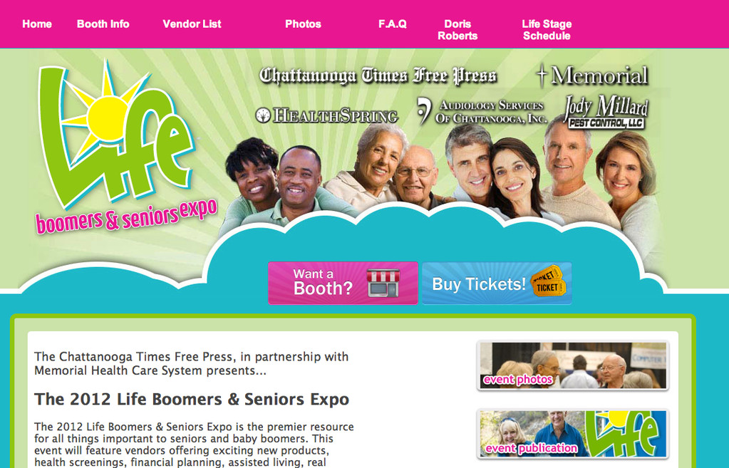 Life Expo caters to boomers and seniors, attracting big hospital sponsorships