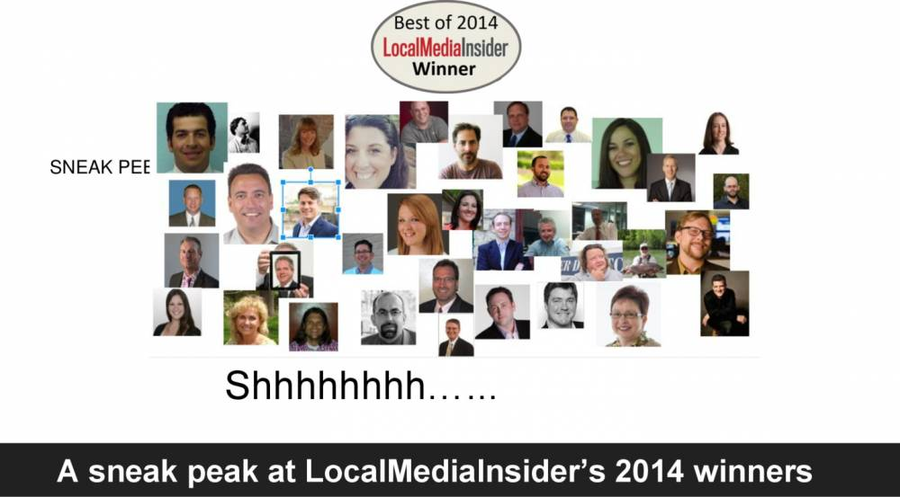 The Best of Local Media Awards, 2014, in PDF