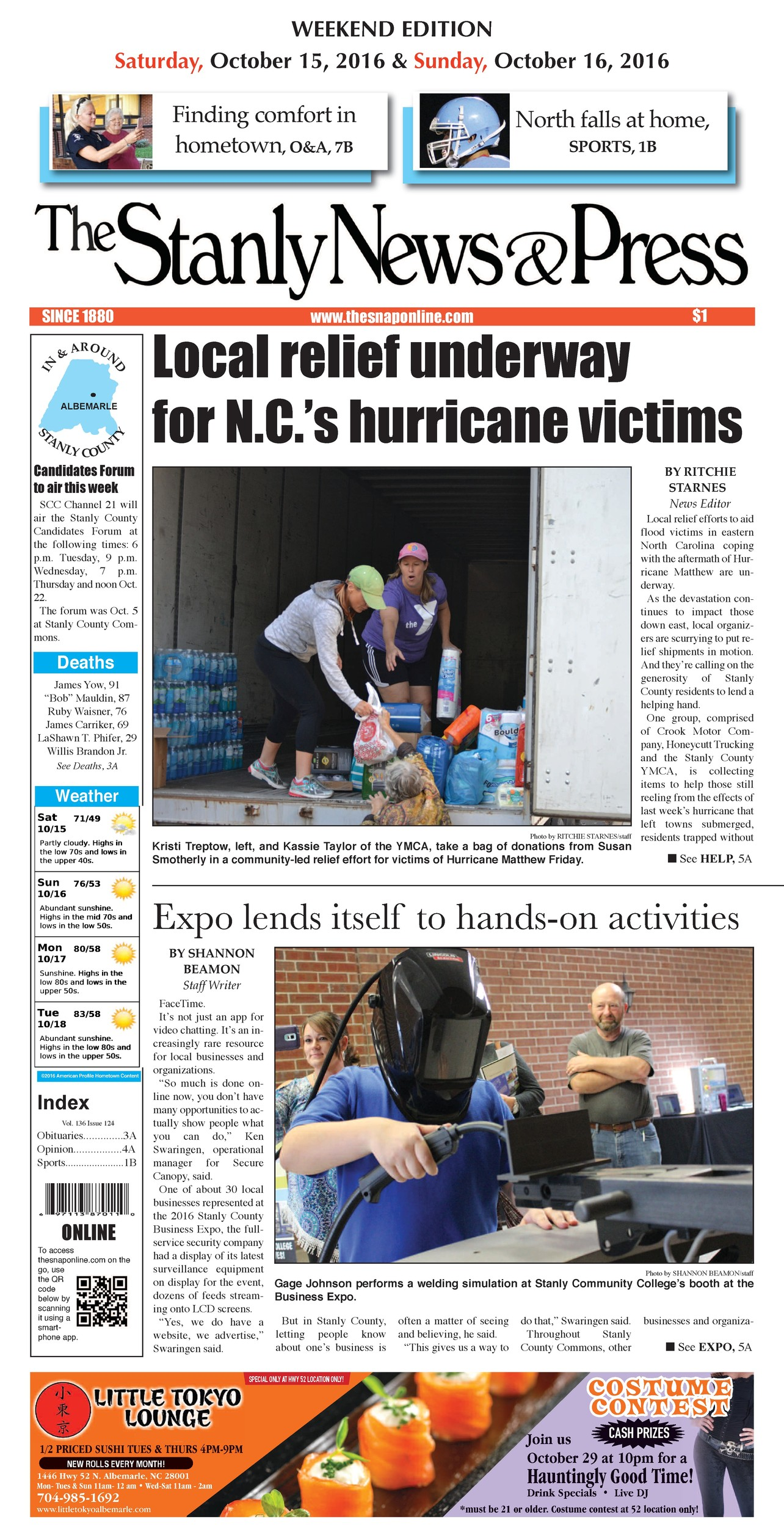 Stanly News & Press, The | North Carolina Press Association