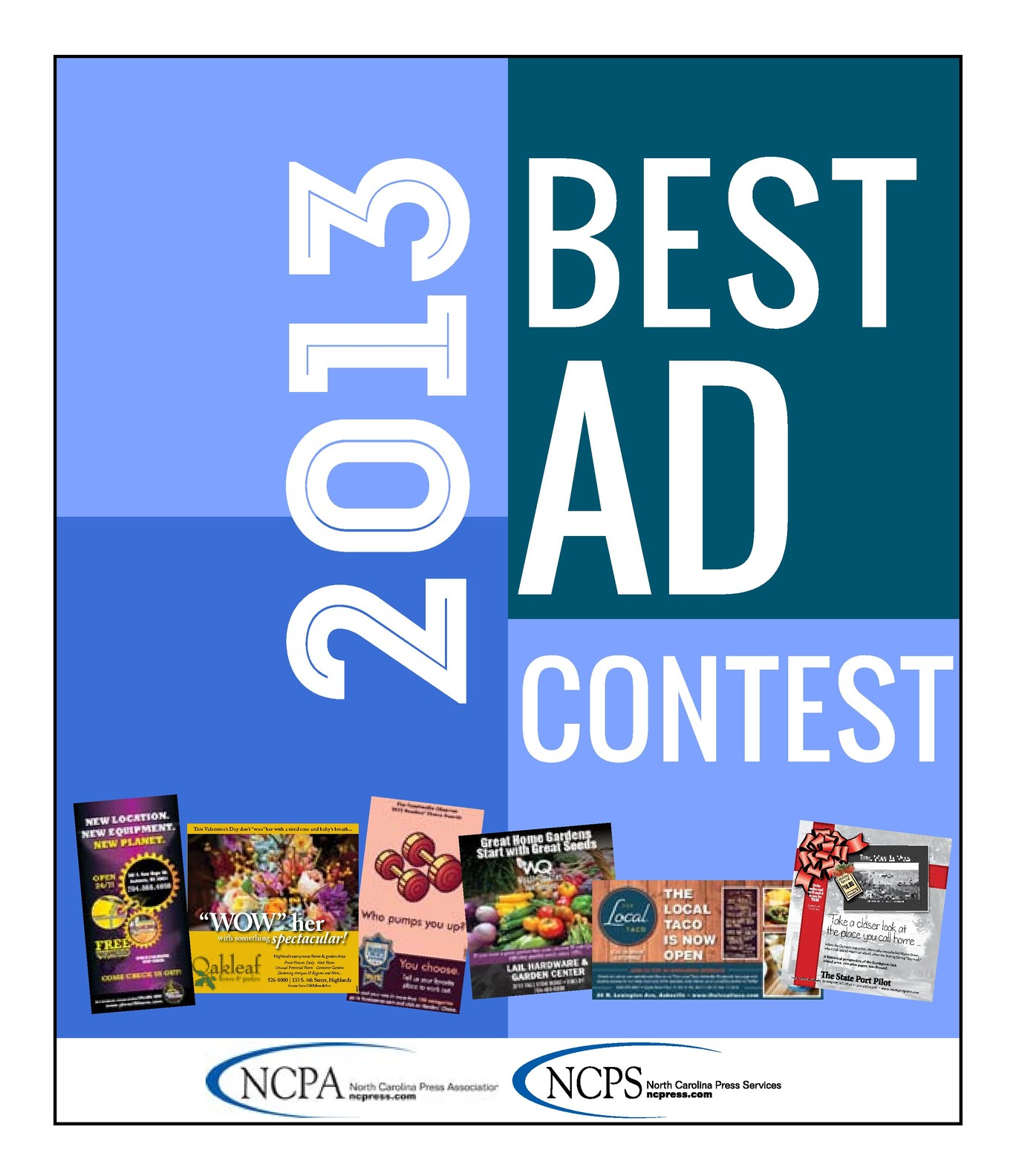 2013 Best Advertising Contest tab