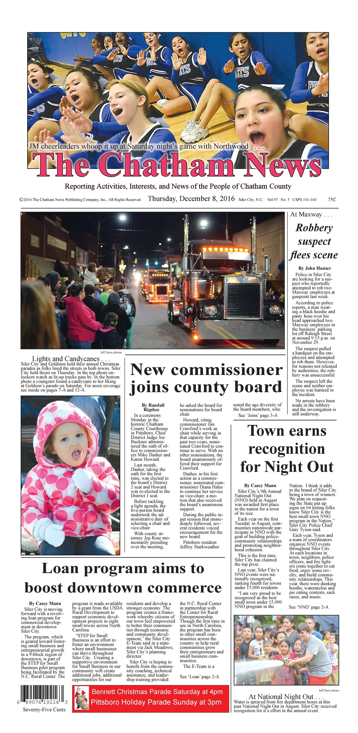 chatham news and record