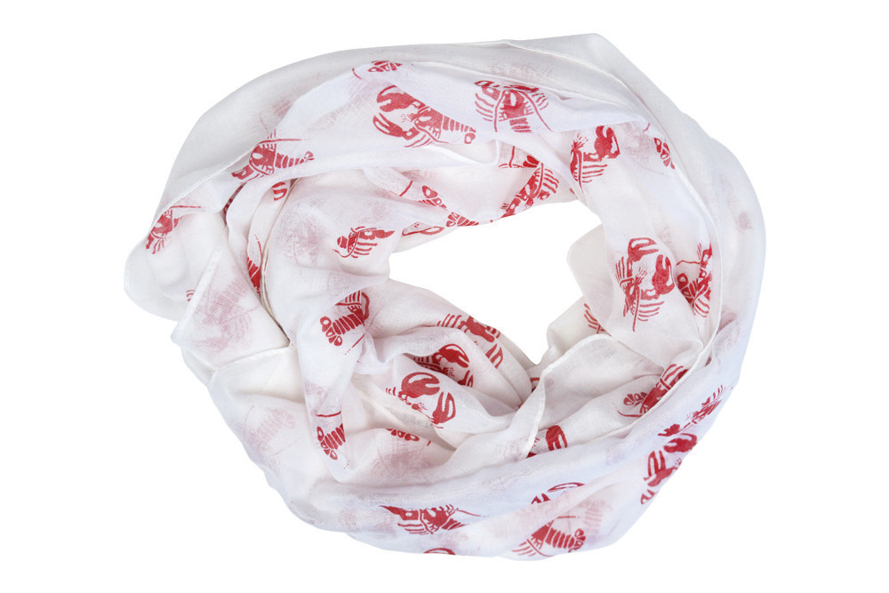 Lobster scarf, $18.95