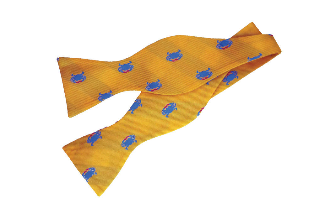Crab bowtie, $50