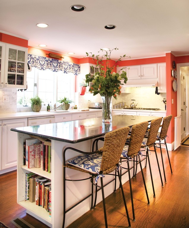 """We just did a little cosmetic updating and changed out the countertops. We replaced the countertops with Caesarstone."""
