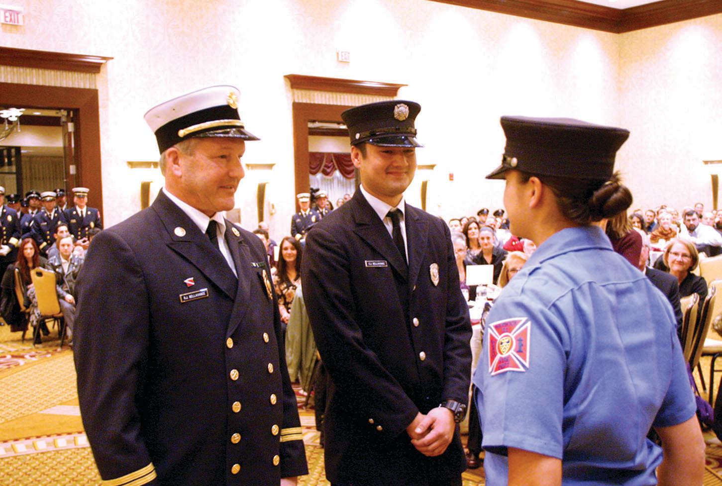 24 join ranks of Fire Department | RhodyBeat