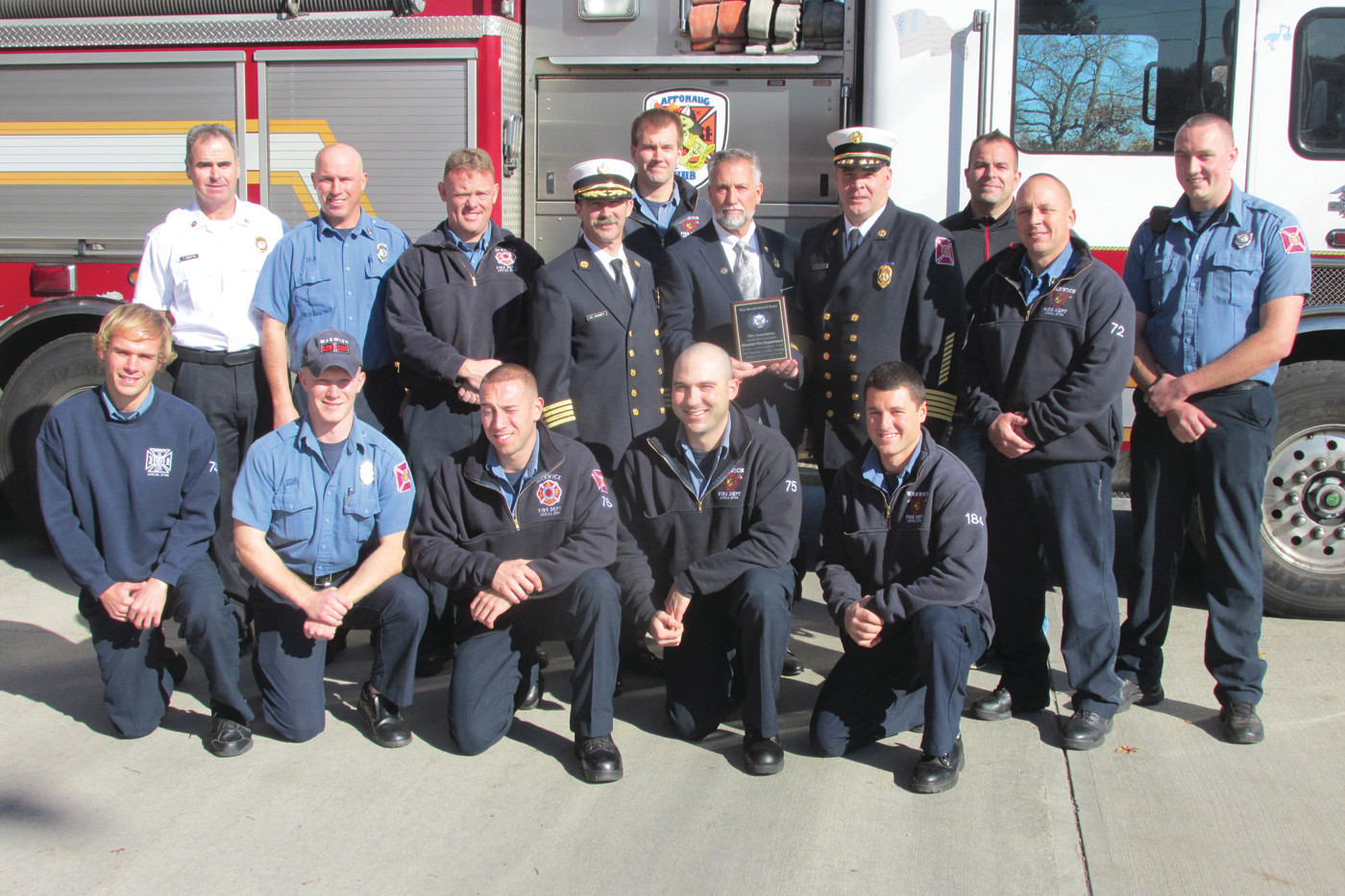 Elks say thanks to WFD for help with outing for special needs