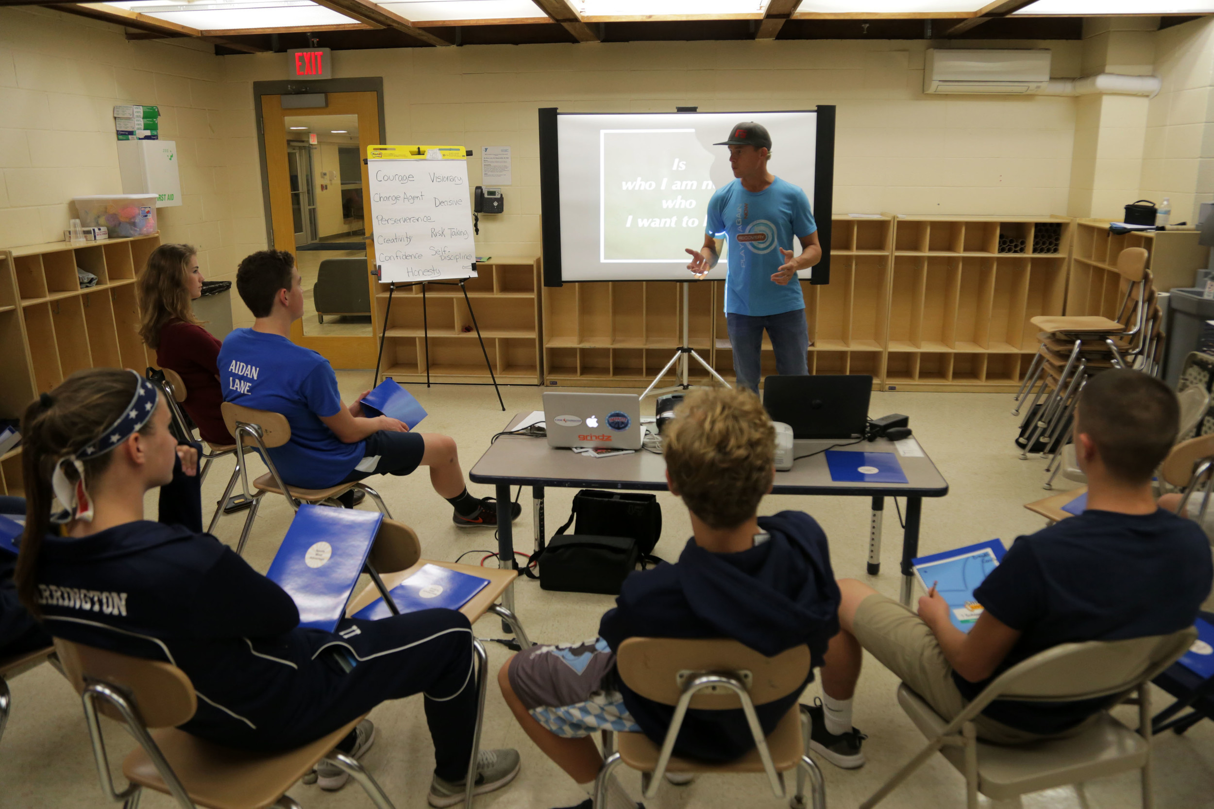 Barrington student-athletes learn more about leading | RhodyBeat