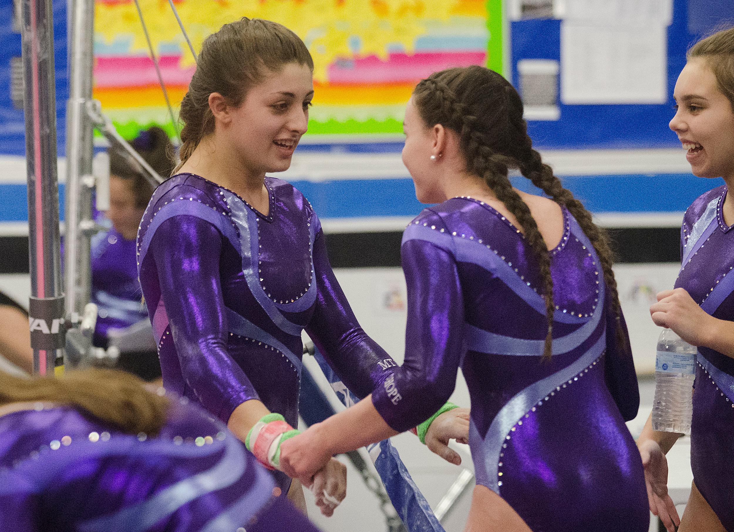 Photos: Mt  Hope Gymnasts beat Barrington, remain undefeated | RhodyBeat