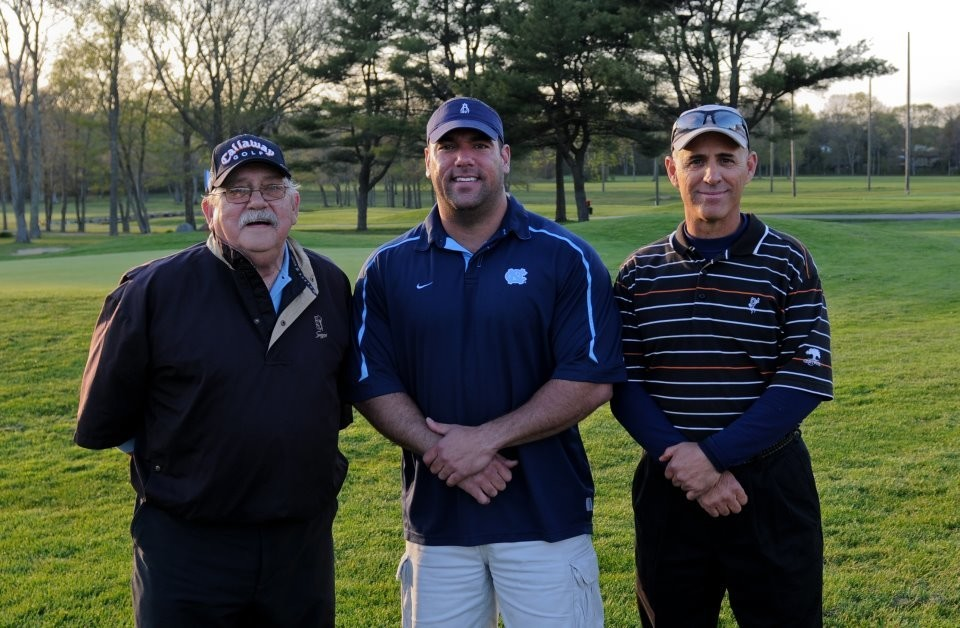 Raymond Cordeiro, left, Manny DaSilva and Stephen Annarummo, former King Philip Little Leaguers who played professional ball, will help welcome the league's new season next week.