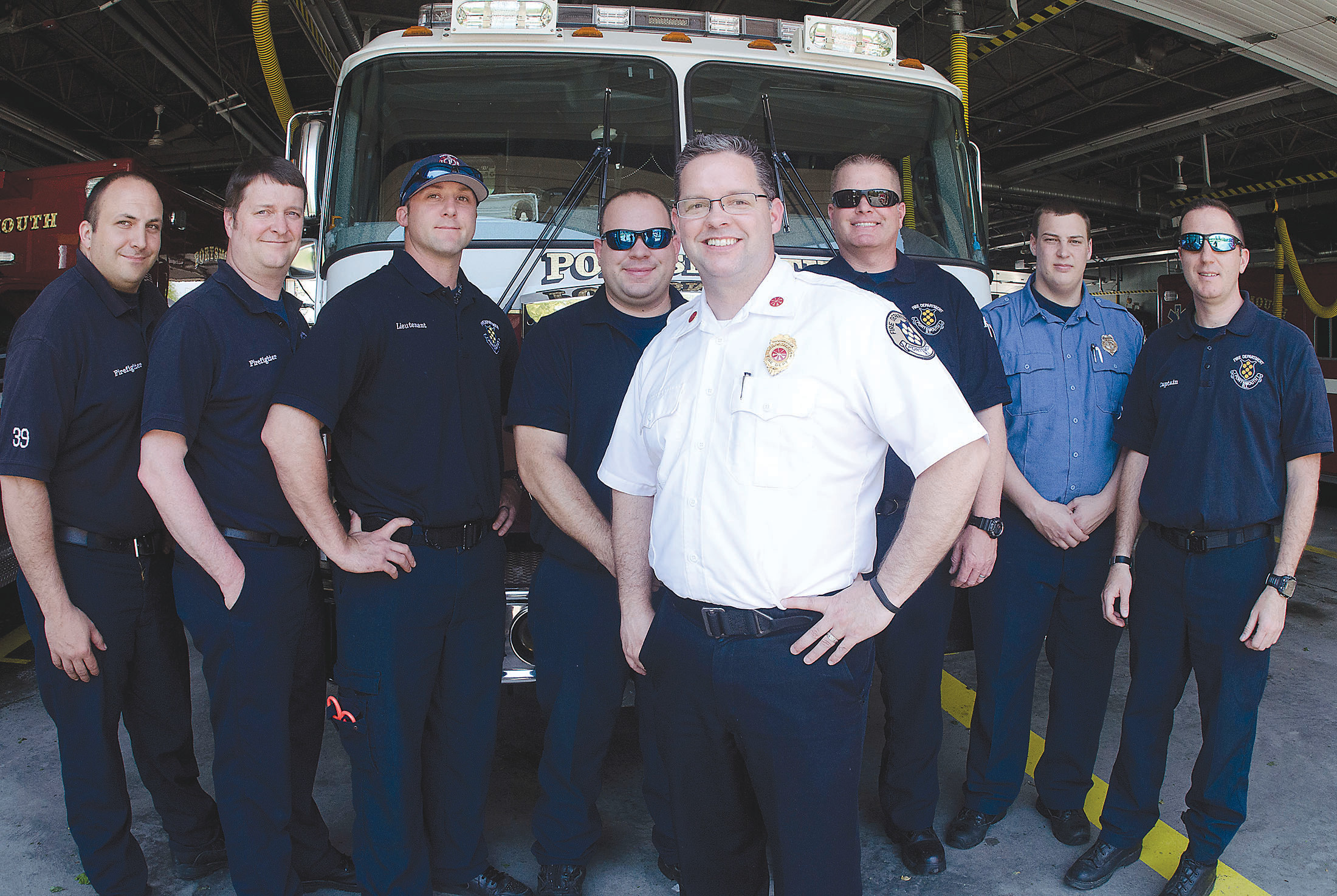 Portsmouth's deputy fire chief Michael O'Brien is moving on