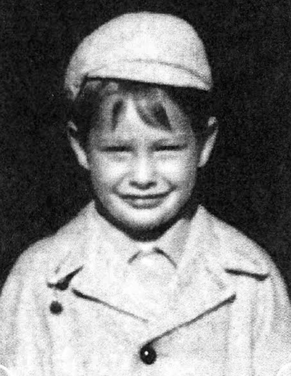 REMEMBER WHEN: This is a photo of Rev. Peter J. Gower during his childhood years in his native Barrington.