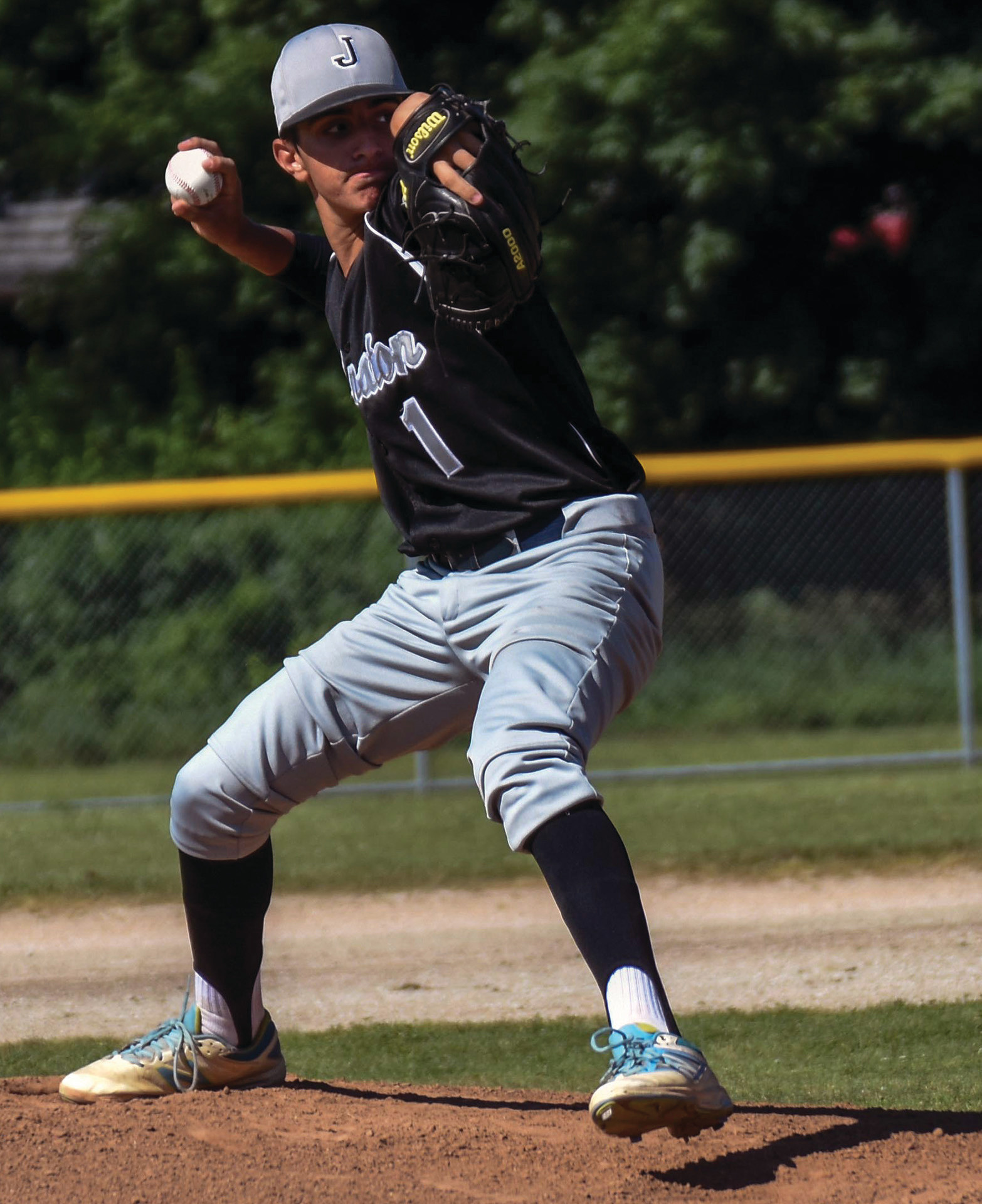 COMPLETE GAME: Bobby Civetti tossed all seven innings in a 7-6 Johnston victory over South Kingstown.