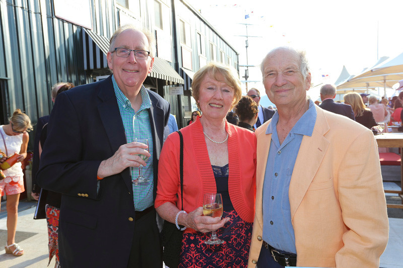 Bruce Browning, Shirley Hurlburt and Schooner McPherson