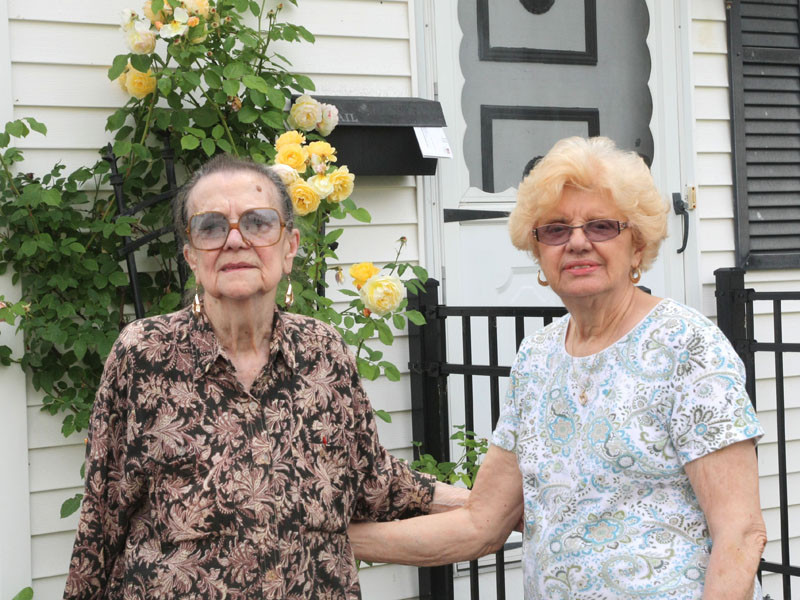 Maria Mancuso (left) and Angela Burgio (right)