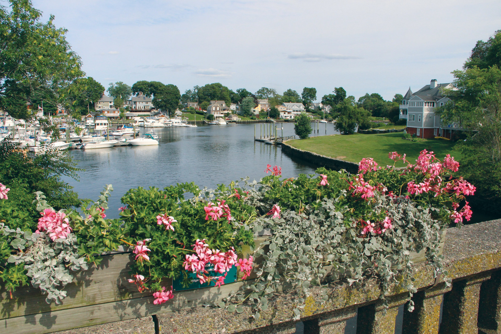 LINKING TWO MUNICIPALITIES: It's Pawtuxet no matter what side of the bridge you're standing on.