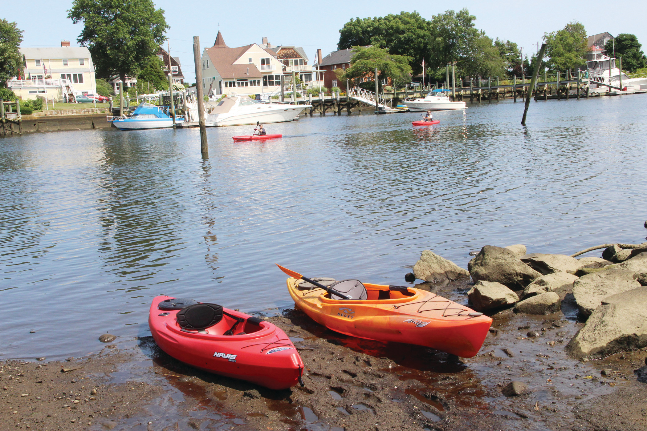 VILLAGE BEAT: A Sunday stroll through Pawtuxet Village found an active community with live music at the Pawtuxet Athletic Club, a birthday at Aspray Boathouse and people on the water.