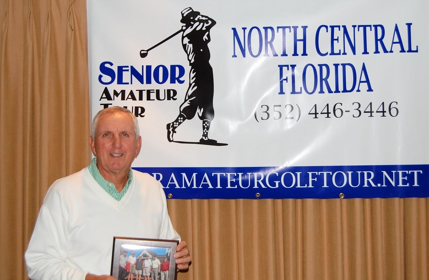 "Pat Monti started playing golf competitively in 1991 and qualified for 8 RI State Amateurs but never made it to match play in the Amateur (""a goal I set for myself when I started playing."")"