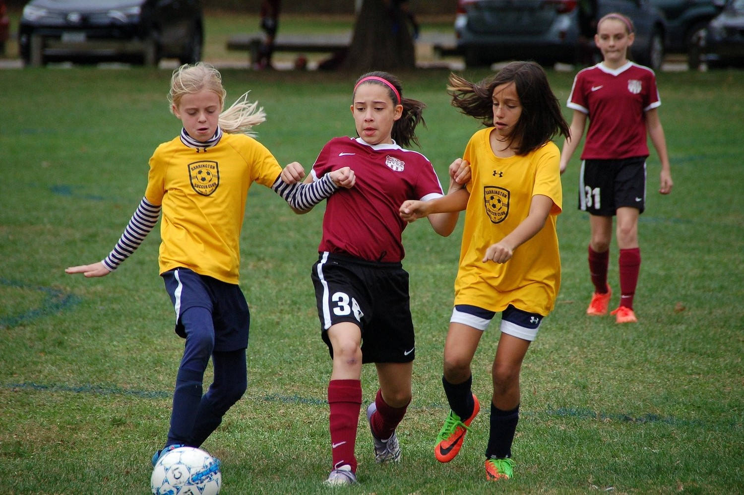 The action in the 37th annual Barrington Youth Soccer Association Invitational Tournament this past weekend was fast and furious. The competition was keen, and parents and fans were thoroughly entertained.