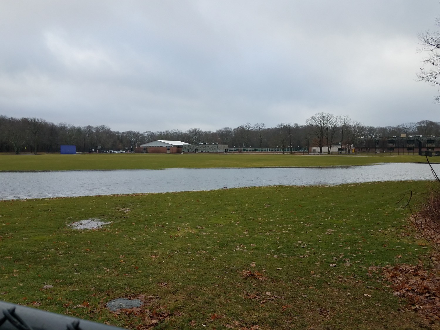 "School officials say the flooded field at Barrington Middle School — the future site of the new middle school building — was to be expected following the rain storm on Friday. ""We concluded that nothing appears out of the ordinary for a heavy rain event, at this location,"" wrote KBA architect Larry Trim. ""Fields typically drain slower than roads and buildings."""