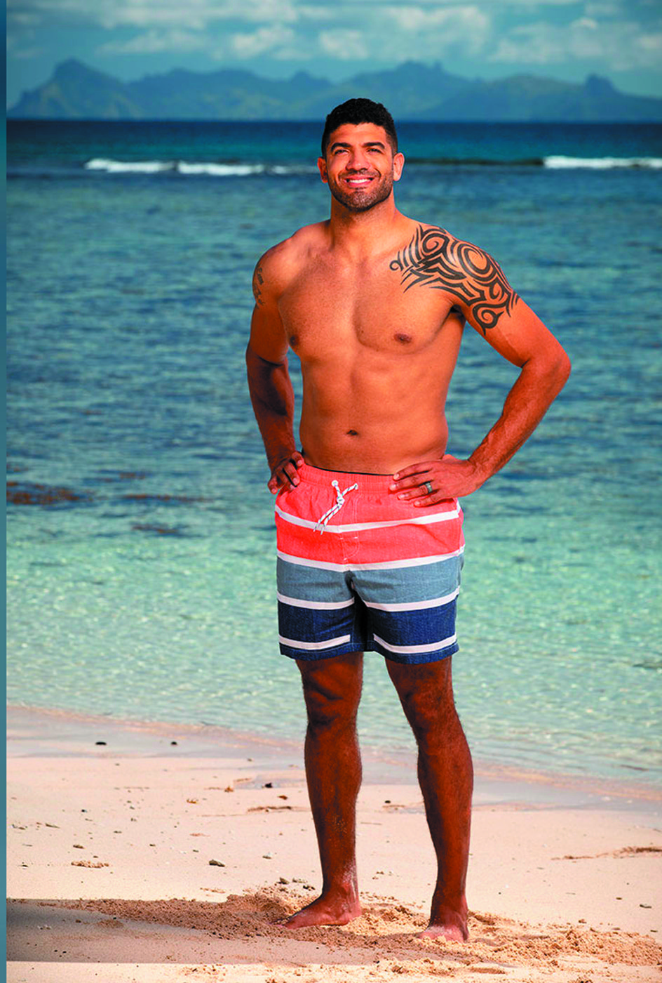 "HE WILL SURVIVE: Aaron Meredith, Warwick resident who owns a gym with locations in Westerly and Warwick, will be on the 39th season of CBS' ""Survivor."""