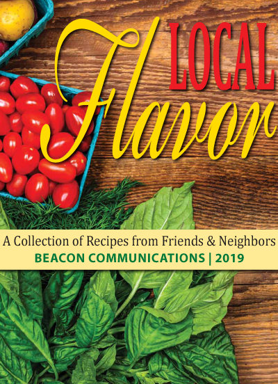 "You can get your copy of the 2019 edition of the ""Local Flavor"" cookbook in the November 21 editions of the Warwick Beacon, Cranston Herald or Johnston SunRise or you can view it online at the link below."