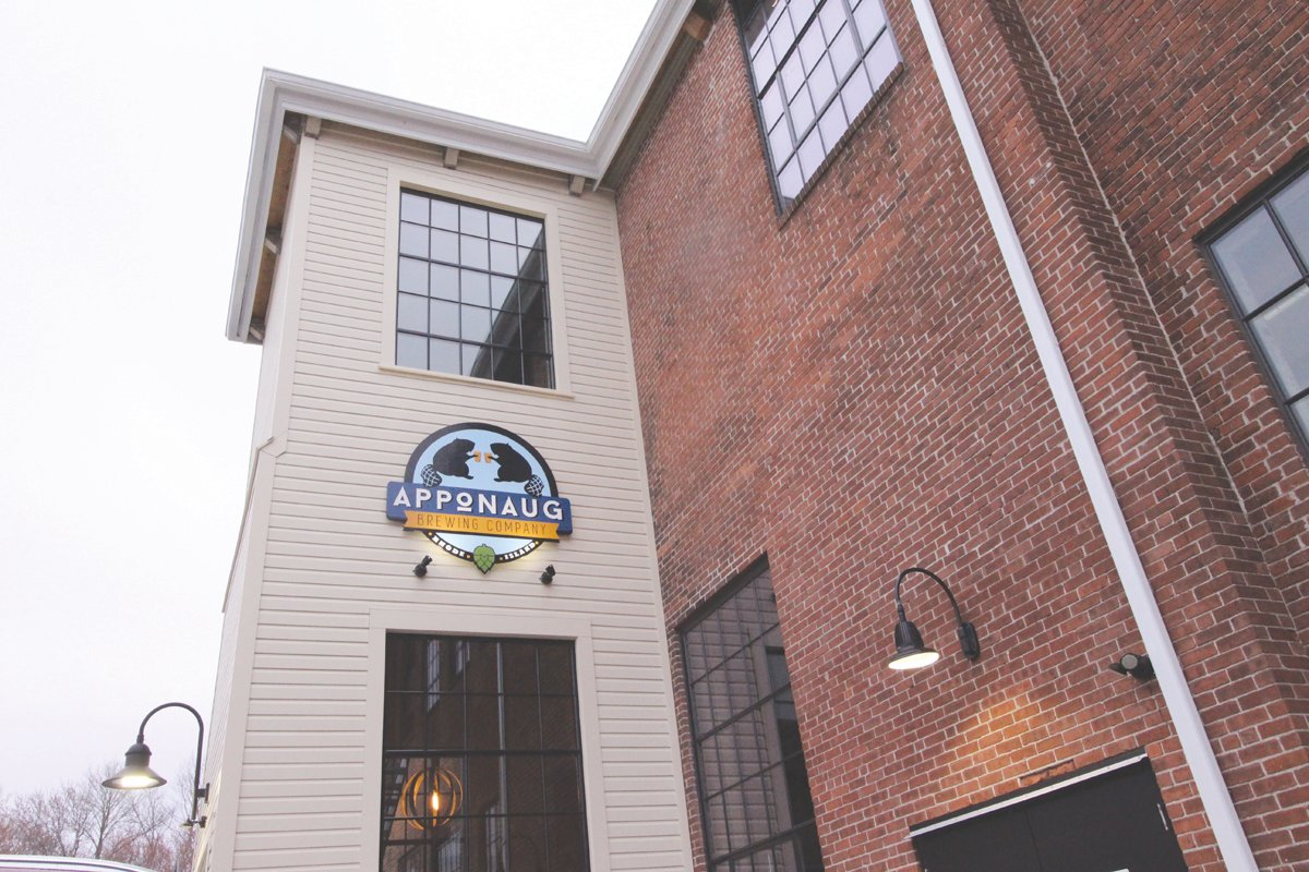 ONE STOP: Apponaug Brewing on Knight Street in Warwick is one of over 30 locations on the Brewery Passport app.