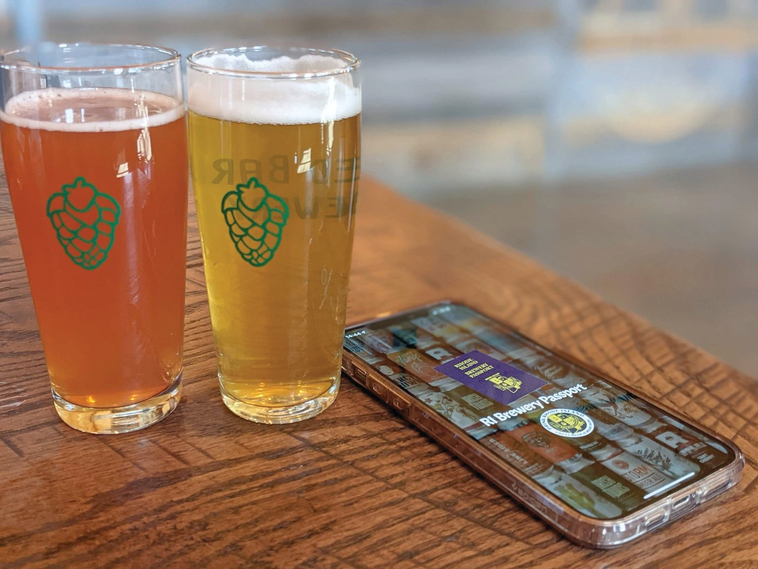 ON YOUR DEVICE: The Brewery Passport is available for iOS and Android services, and can be found through the Guild's website, ribrewersguild.org.