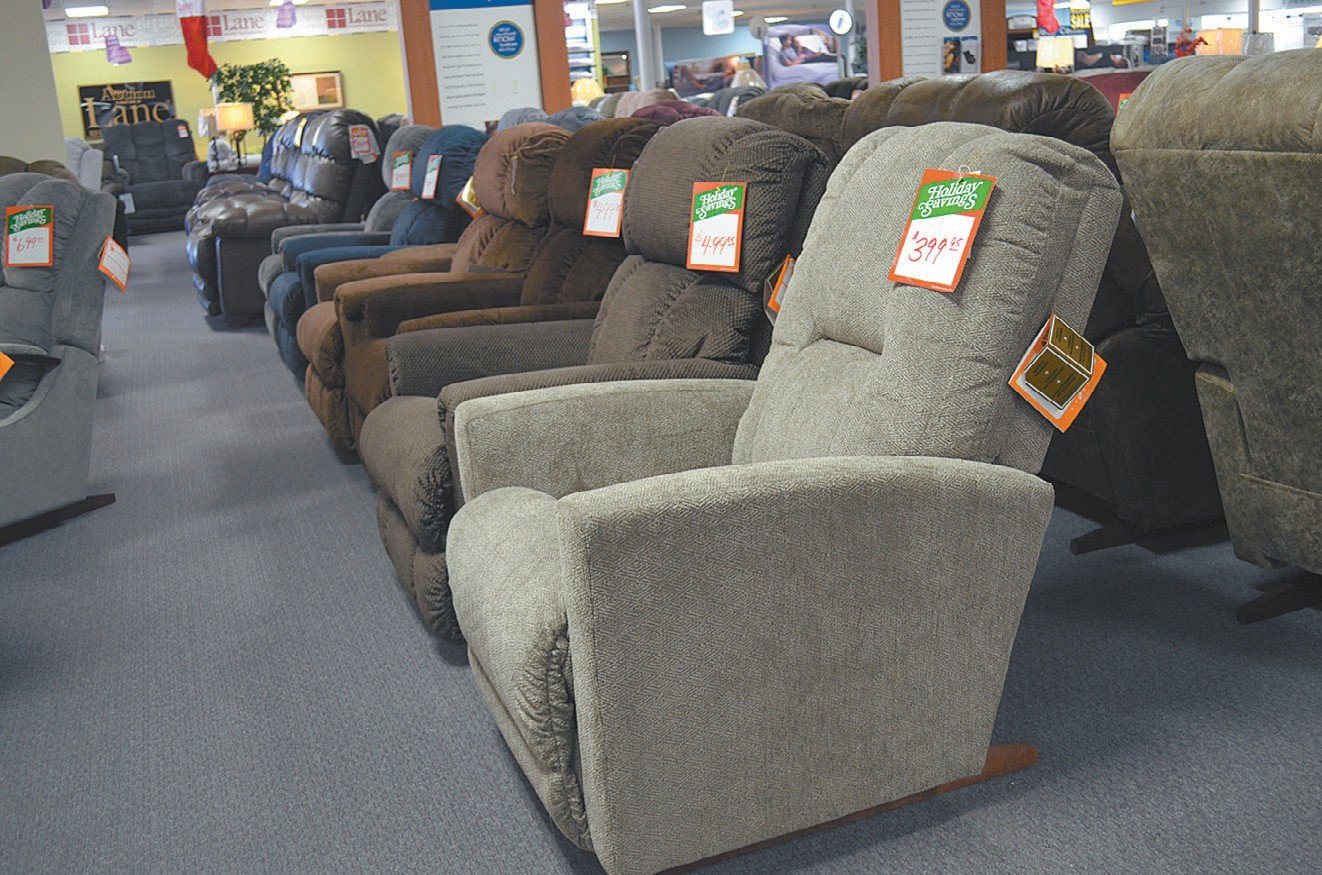 Furniture Mart's most desired bought item this year were living room suits.