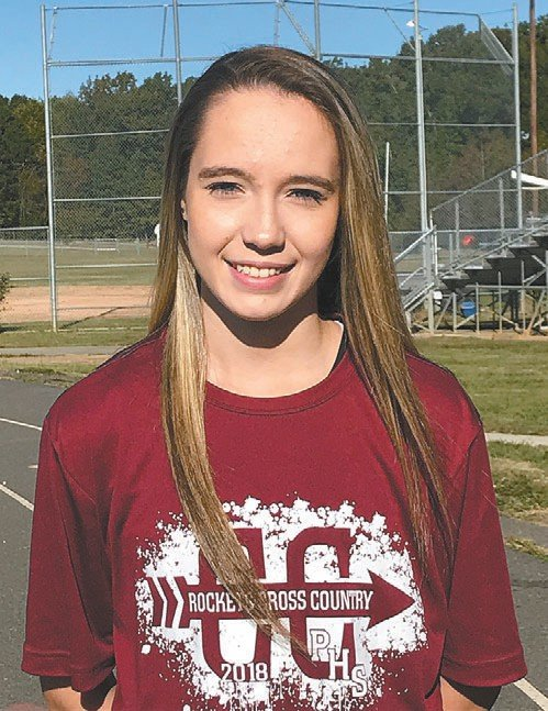 Person's Magen Elliott will look to run to states this weekend when she competes in the 3A Mideast regionals in Cary. DANIELA GAMBOA | COURIER-TIMES