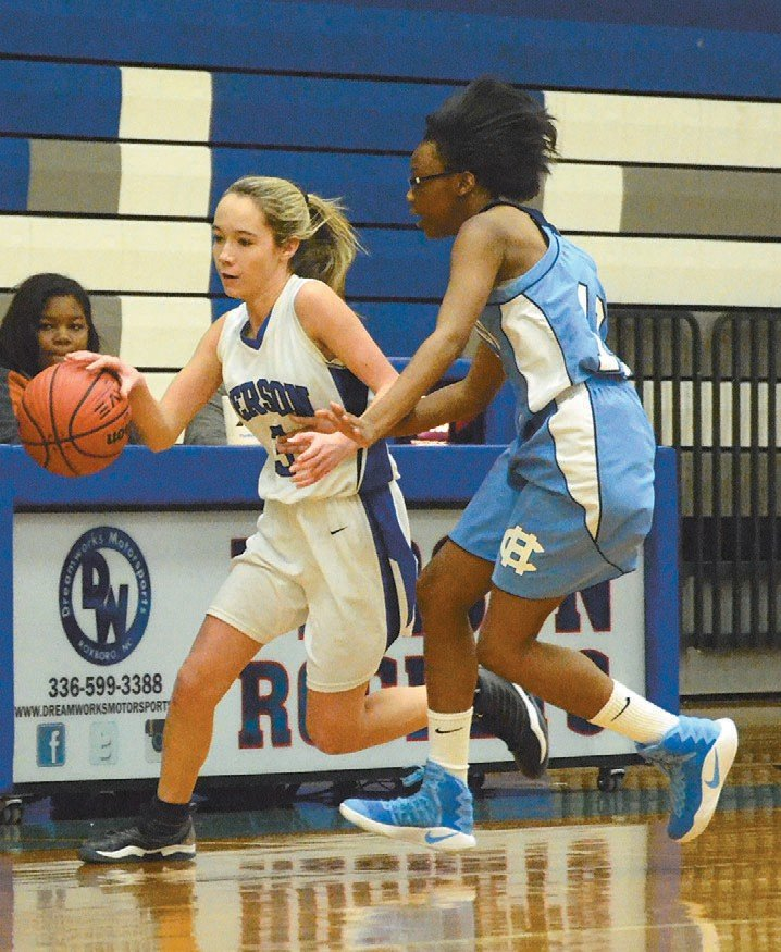 FILE Magen Elliott played on Person girls' JV basketball team as a freshman and sophomore.