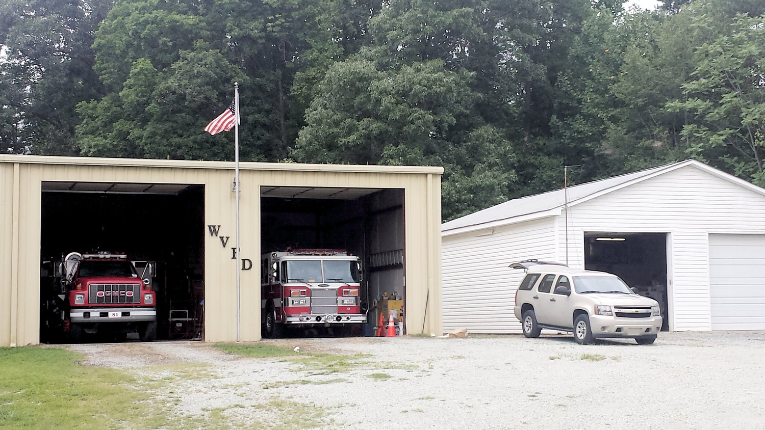 Woodsdale Volunteer Fire Department faced two challenges that had put them on probation by the state. However, according to Chief Greg Freeman, the department has now met those requirements.