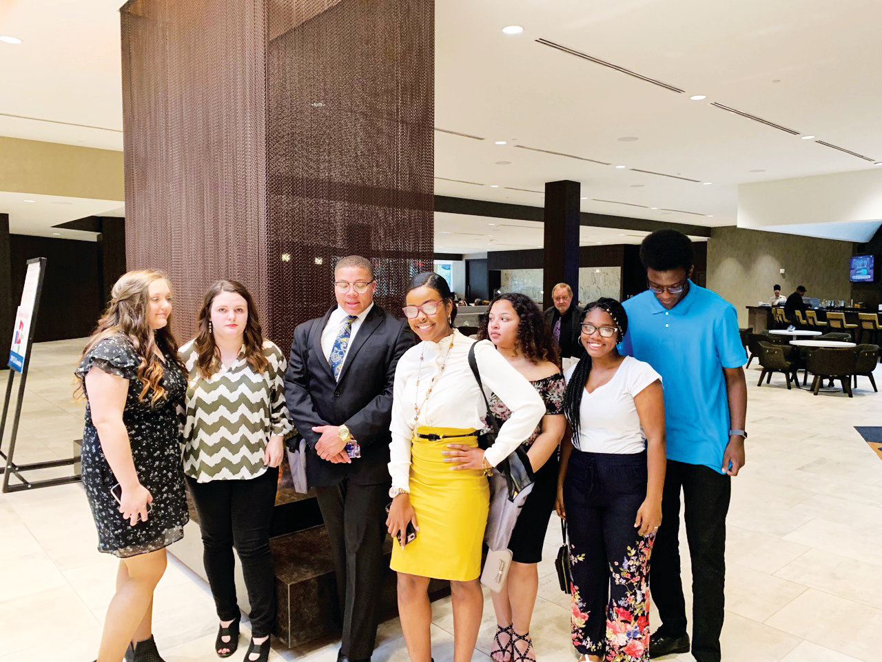 Teens attended N.C. Teen Court Association Summit.
