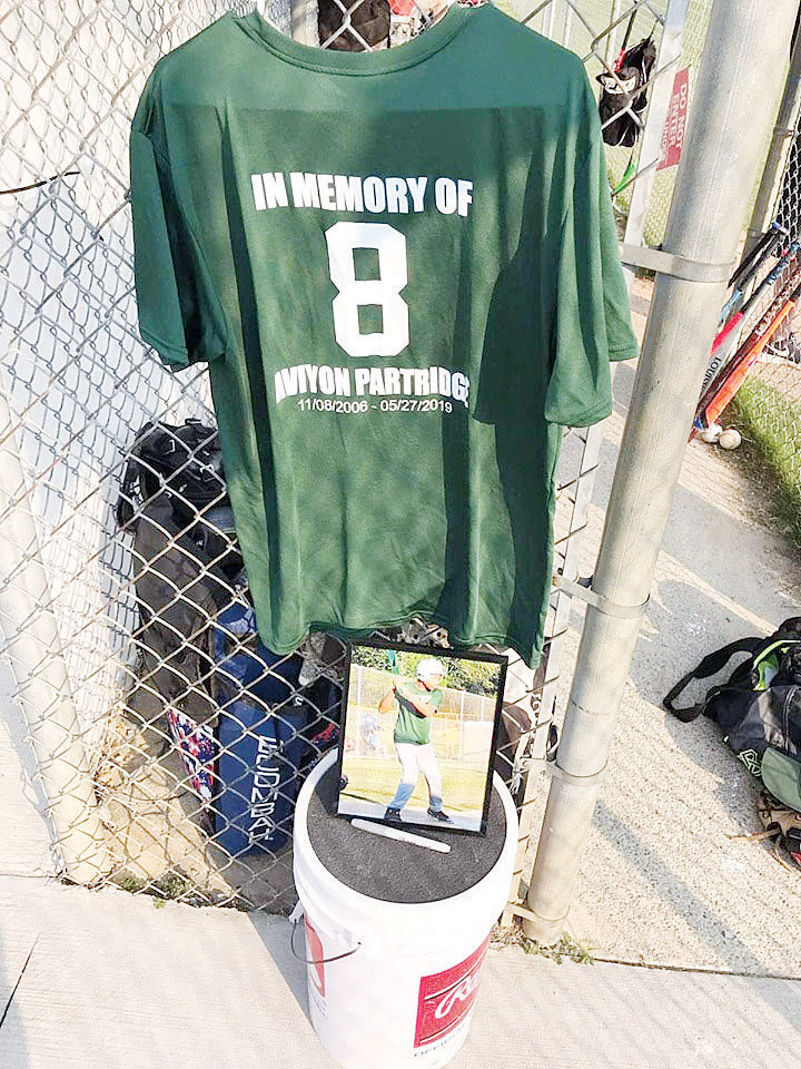 The Partridge family hopes to raise $250,000 to build Aviyon's Athletic Foundation to honor the memory of Aviyon who was a star athlete before his death on Memorial Day weekend.