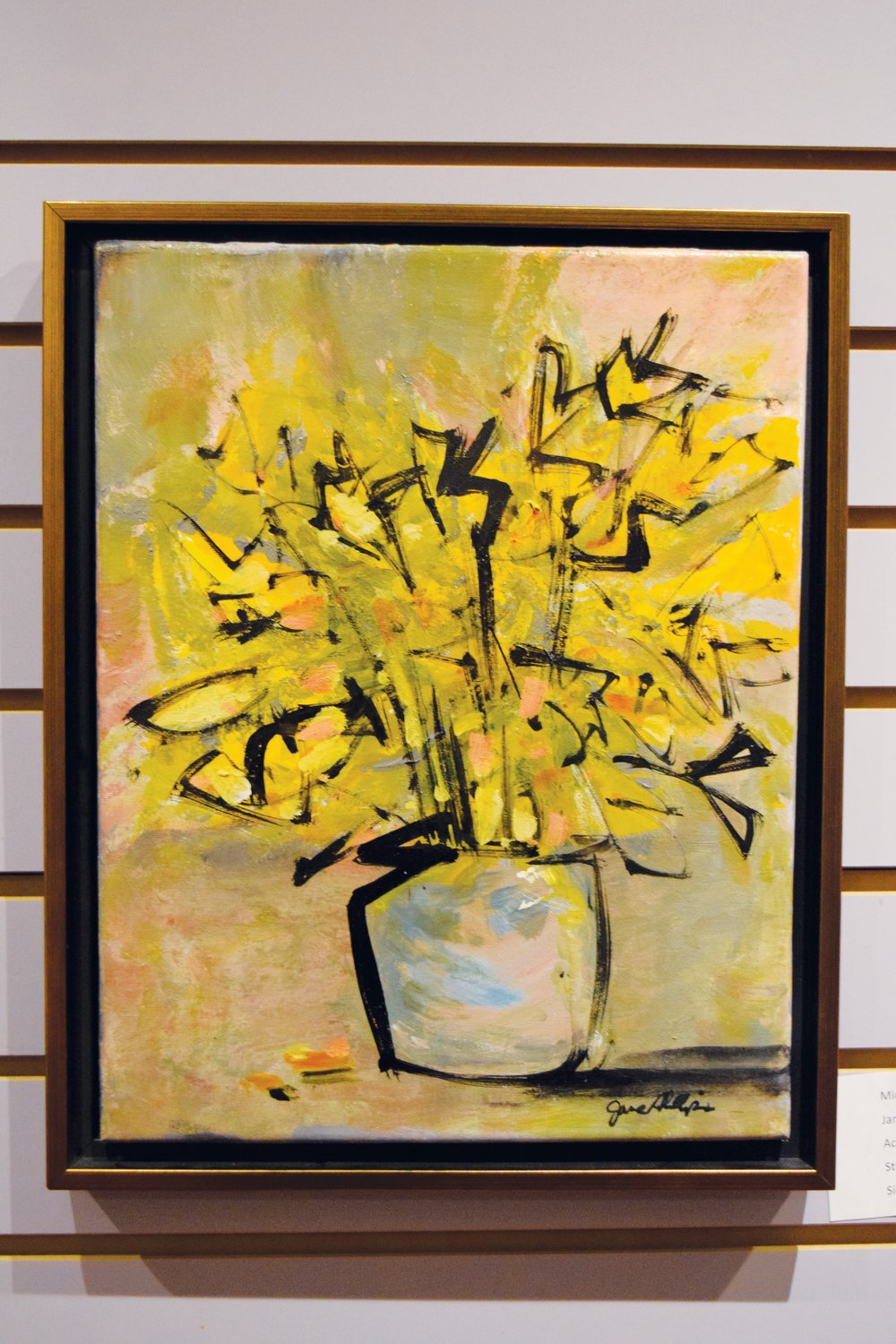 The art of Jane Phillips is among works by members of the Person County Artists Guild on exhibit throughout the month of December.