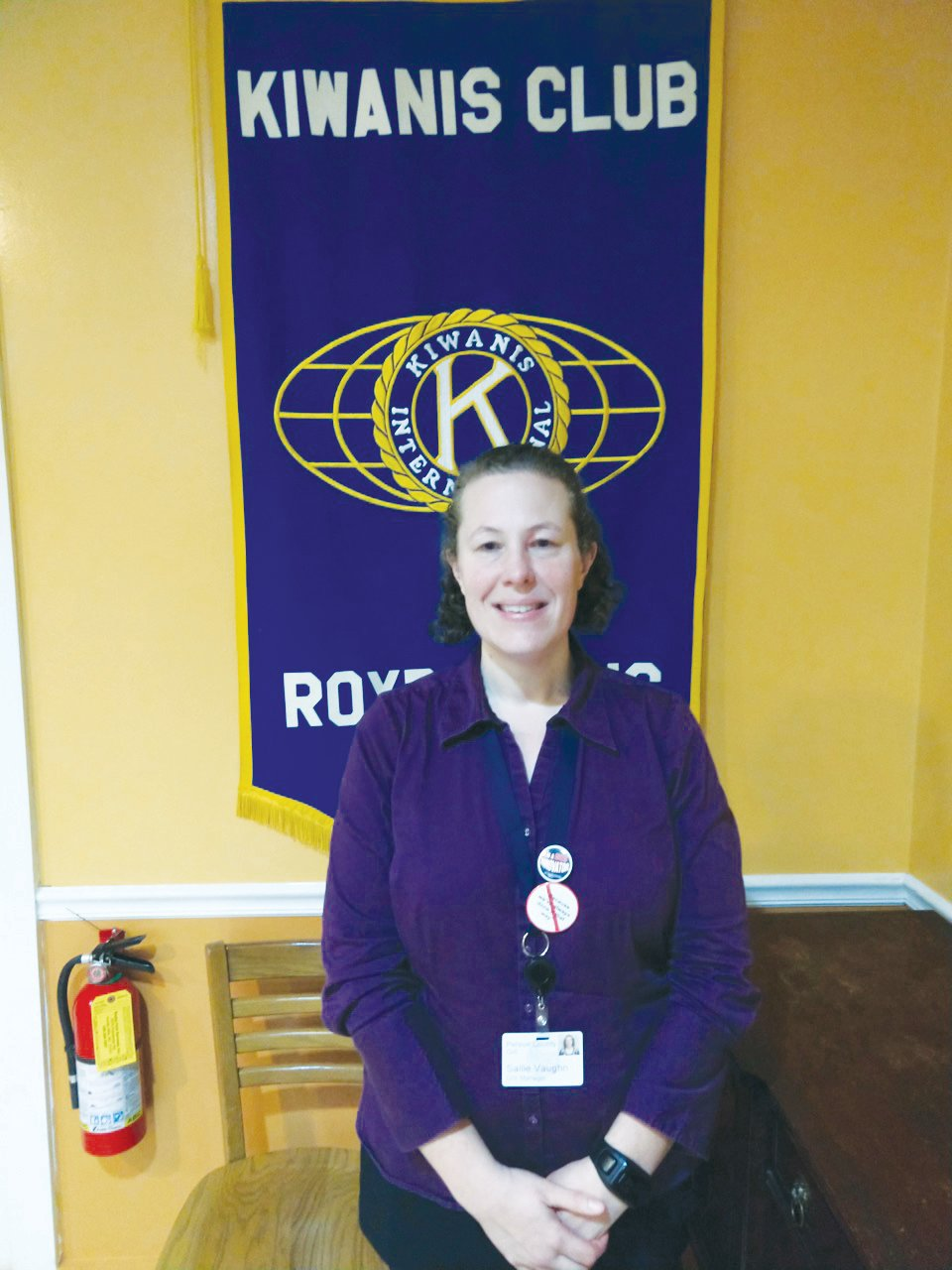 Person County GIS manager and 2020 county census coordinator Sallie Vaughn spoke to those in attendance at the February meeting of the Roxboro Kiwanis Club.