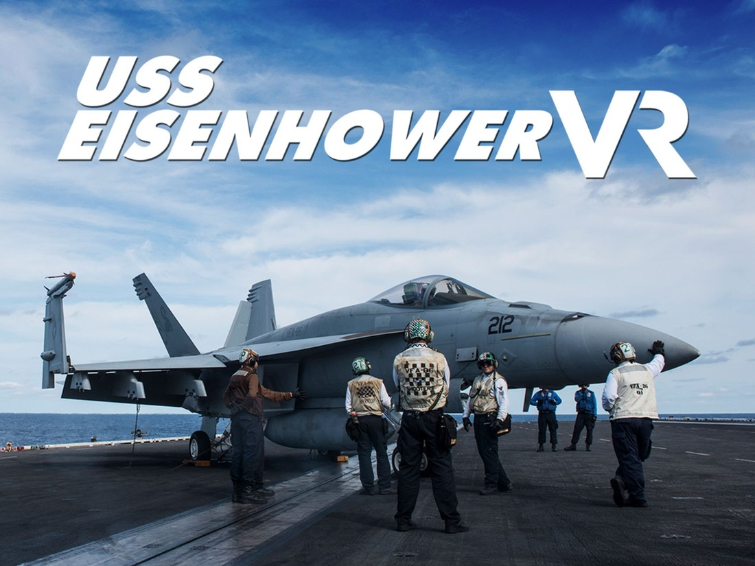 The USA TODAY NETWORK presents 'USS Eisenhower VR,' an unprecedented VR interactive transporting viewers to an aircraft carrier during full combat training. (Photo by USA TODAY NETWORK)