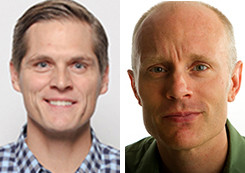 Nextdoor's Steve Wymer and Matthew Hall of The San Diego Union-Tribune