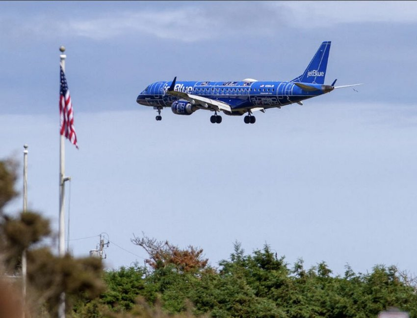 JetBlue, Nantucket Memorial Airport's busiest carrier, will not resume service to the island until July at the earliest.