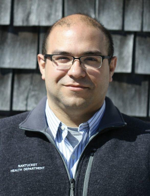 Town health director Roberto Santamaria