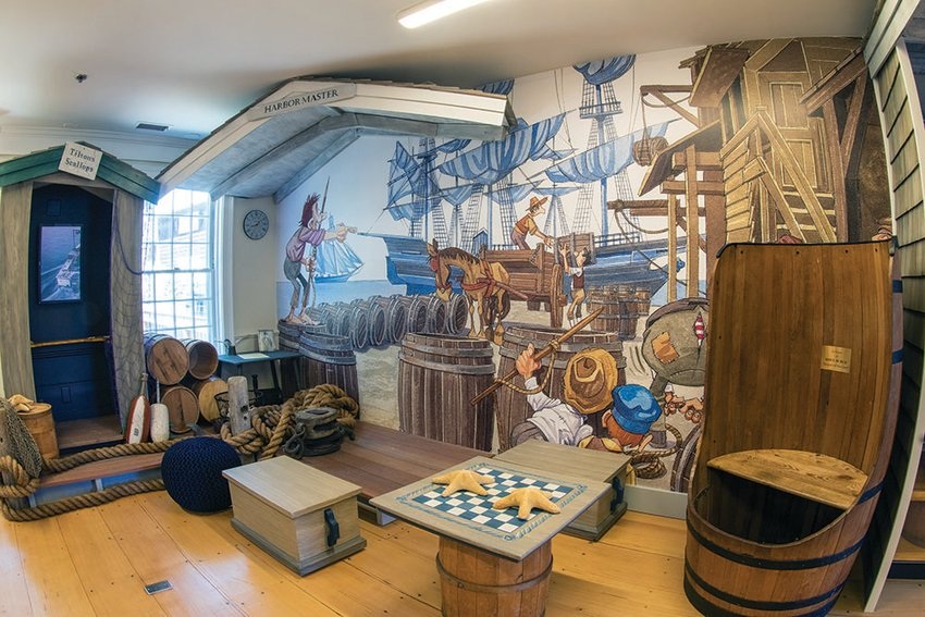 The newly-reimagined Children's Discovery Center at the Nantucket Whaling Museum.
