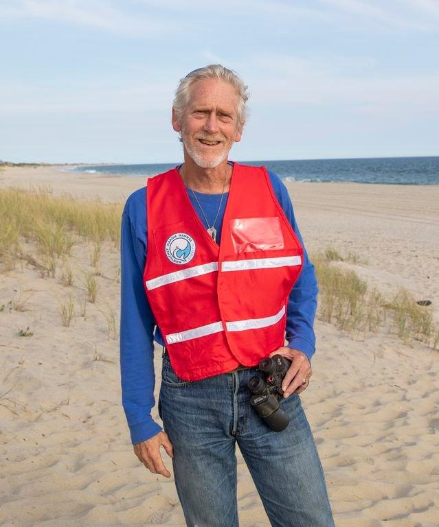 Scott Leonard stepped down as the Marine Mammal Alliance Nantucket's stranding coordinator this month.