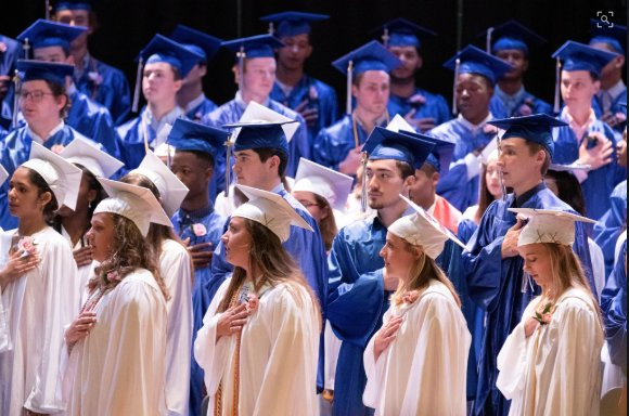 How – and when – the Nantucket High School Class of 2020 will graduate this year remains up in the air, after Gov. Charlie Baker this week ordered all schools closed through the end of the academic year.