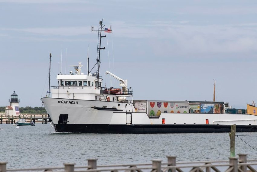 The SSA Gay Head rounding Brant Point earlier this week.