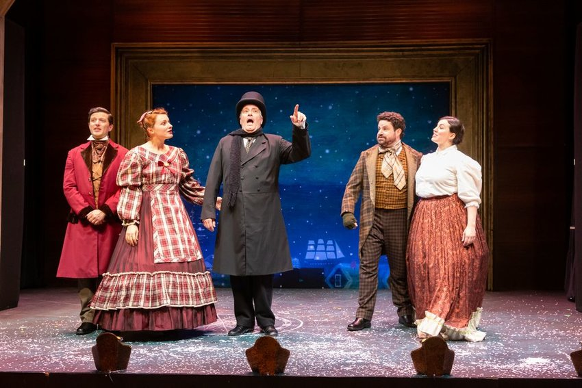 """""""A Nantucket Christmas Carol"""" premiered at the White Heron two years ago. This year, Oscar Award-winning actor Christopher Plummer records part of his narration for a radio drama version."""