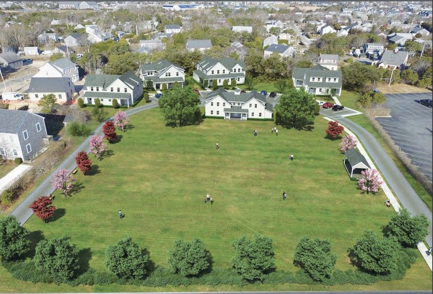 The Planning Board on Monday approved this five-building, 22-unit apartment complex off Fairgrounds Road.