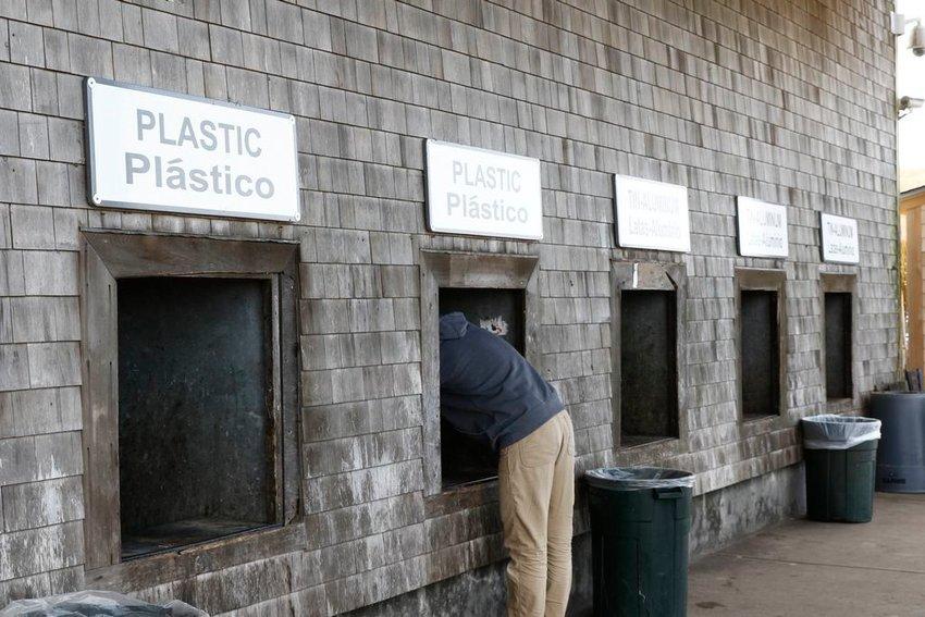 Sorting options changed last year at the Madaket landfill.