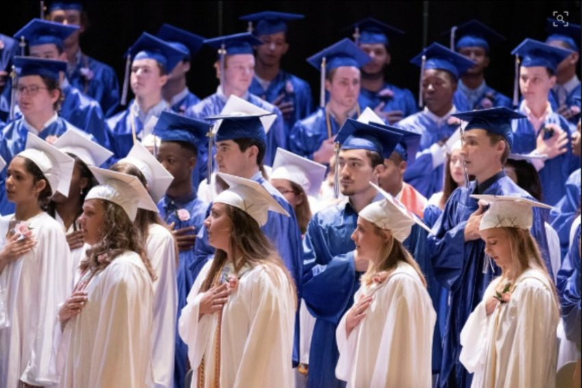 Nantucket High School's graduation ceremony this year will be a virtual one.